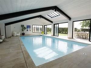 plan maison piscine interieure evtod With construction maison avec piscine interieure