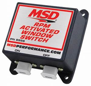 Msd 8956 Window Rpm Activated Switch