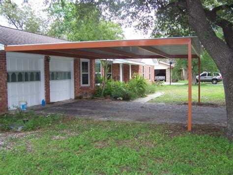 Lean To Car by Two Car Custom Lean To Carport Airport Area San Antonio