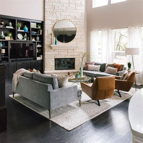 2 Loveseats In Living Room by How To Make Two Sofas Work In Your Living Room Front