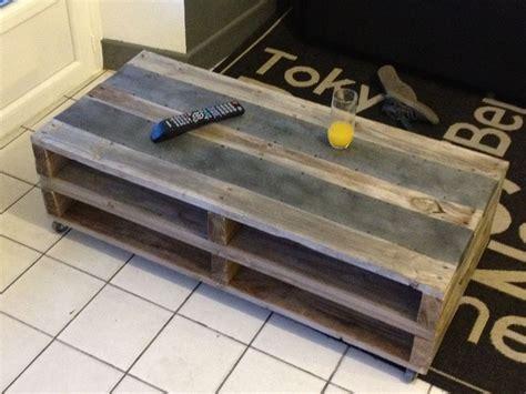 Fabriquer Une Table A Manger En Palette. Free Fabriquer Un Meuble De Cuisine En Bois Chambre ...