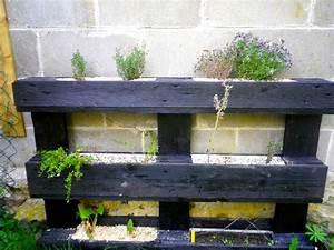 Mur Végétal En Palette : fabrication d 39 un mur v g tal en palette tous au potager ~ Melissatoandfro.com Idées de Décoration