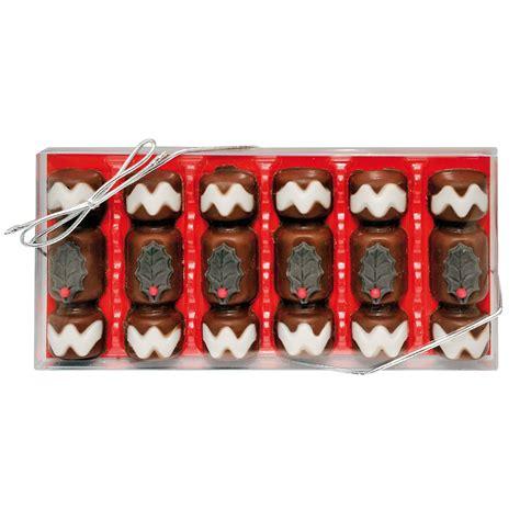 crackers gwynedd confectioners novelty christmas chocolates gift box 90g