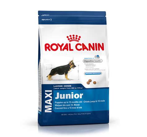 royal canin maxi junior 15kg royal canin maxi junior 15 kg dogspot pet
