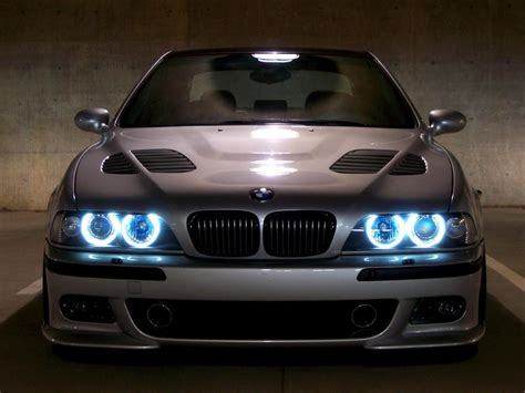 bmw   blue angel eyes wallpaper cars wallpaper