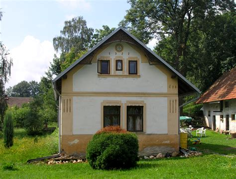 small house in file bohdaneč small house jpg wikimedia commons