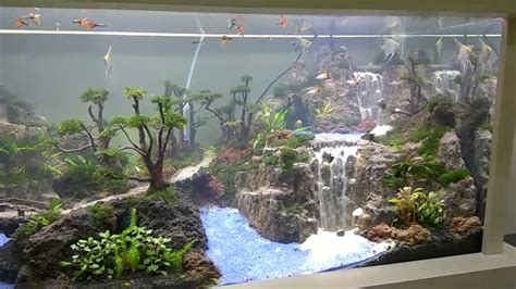 Waterfall Aquascape by Khenzo Aquascape Waterfall