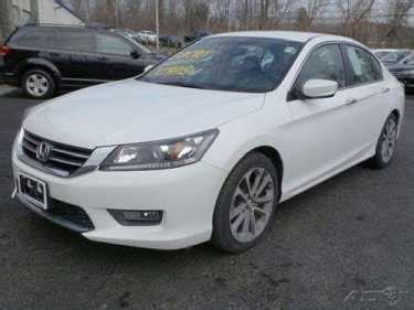 honda accord sport white  sale ebay  cars