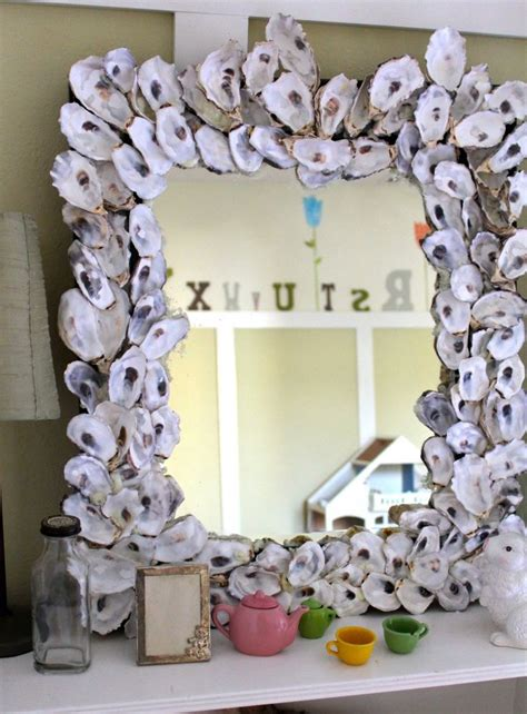 oyster shell decor 85 best sea shell mirrors and frames images on 1360