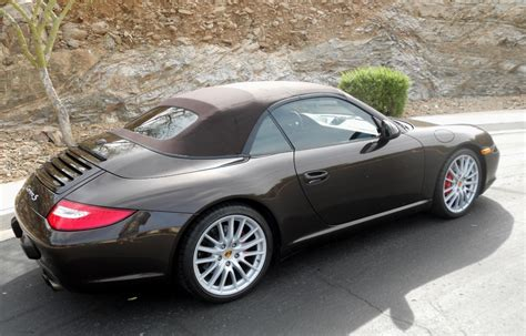 2009 Carrera S Cabriolet 11k Miles For Sale