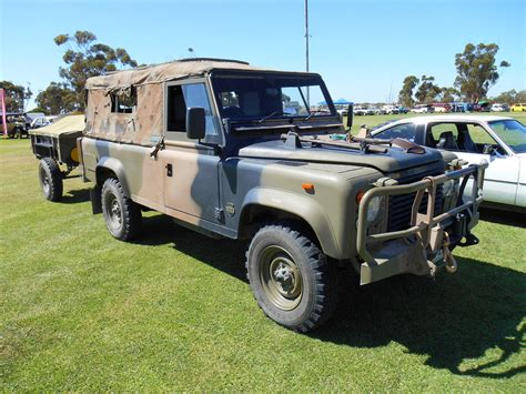 land rover australian 1990 land rover perentie 110 australian army 4wd with tr