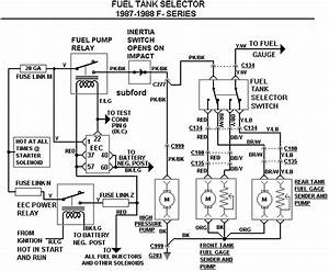 1996 Ford F150 Dual Tank Fuel System Diagram
