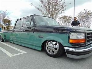 Ford F350 Bagged Dually - Cold A  C