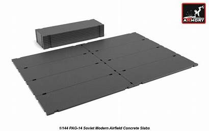 Armory Pag Concrete Slabs Soviet Models Scale