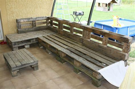 canapé palette bois canape exterieur bois maison design wiblia com