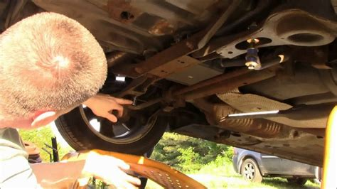 ford focus rear stabilizer bar link replacement youtube