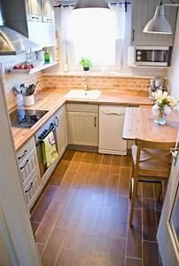 Idée Aménagement Cuisine : comment am nager une petite cuisine id es en photos ~ Dode.kayakingforconservation.com Idées de Décoration
