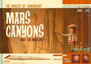 JAMES GILLEARD: Visit the Mars Canyons with Captain Future!