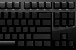 das keyboard no letters faster typing technabob With computer keyboard without letters
