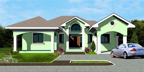 bedroom house plan ghana home design