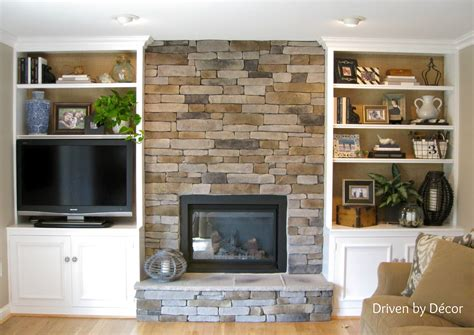 Built In Bookcases With Fireplace Omahdesignsnet