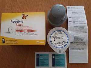 Freestyle Libre Flash Glucose Monitoring System Sensor And