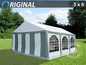 Partyzelt 3x6 Günstig Kaufen : partyzelt original 3x6 m pvc grau wei dancovershop de ~ Yasmunasinghe.com Haus und Dekorationen