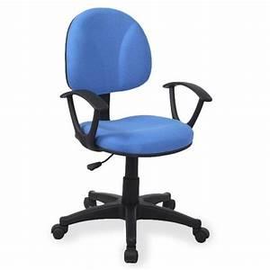 Chaise De Bureau Bleu : chaise de bureau bleu ~ Teatrodelosmanantiales.com Idées de Décoration