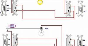 3 Different Method Of Staircase Wiring With Diagram And