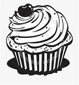 Cupcake Clipart Baked Goods Cup Cake Coloring Pages Clipartkey sketch template