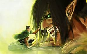 Eren and Levi Wallpaper - WallpaperSafari