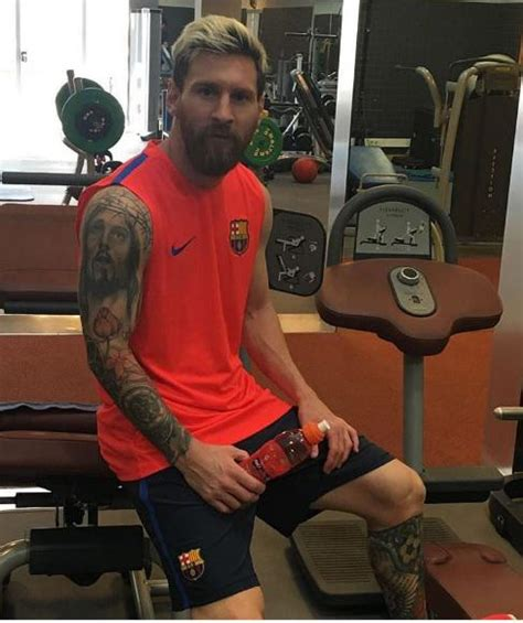 tattoos lionel messi die coolen tattoos der sport stars