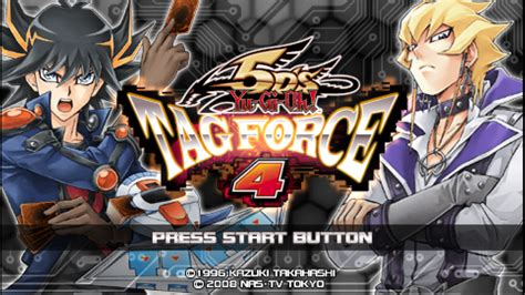 force tag yu gi oh psp iso 5d ppsspp game eur games 5ds strategy setting movgamezone play