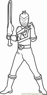 Coloring Power Ranger Rangers Pages Coloringpages101 sketch template