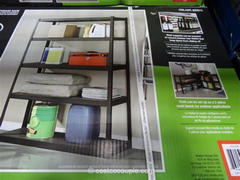 costco heavy duty shelving whalen heavy duty storage rack 14104