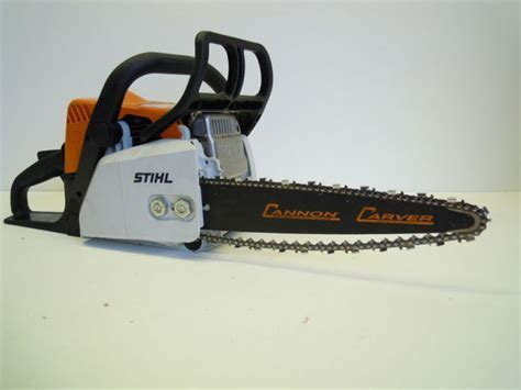 CANNON CARVER DIME 14 INCH WOOD CARVING CHAINSAW BAR STIHL