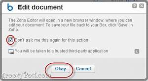 how to edit boxnet documents with zoho With box edit documents