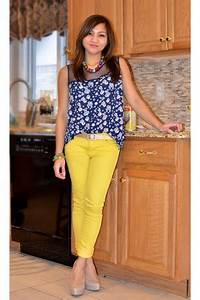Yellow Mossimo Pants Floral Jason Wu For Tar Blouses