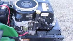 John Deere 14 Hp Kawasaki Engine