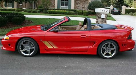 1997 S281 Cobra Convertible (97-0180) Offered On Ebay