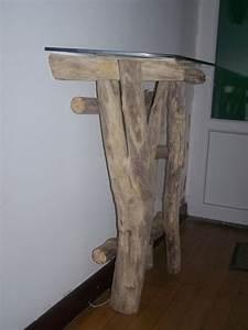 Meuble En Bois Flotté : console en bois flott meubles d coratifs en bois flott bois du lot ~ Preciouscoupons.com Idées de Décoration
