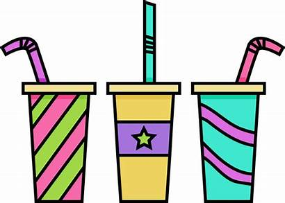 Clip Drink Drinks Clipart Drinking Cliparts Beverages