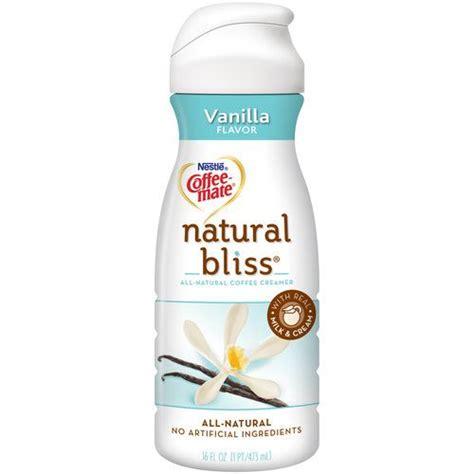 Coffeemate nat bliss vanilla 16oz (00050000693863)
