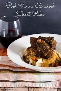 Red Wine Braised Short Ribs By The Redhead Baker