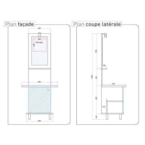 profondeur standard plan de travail cuisine finest with hauteur standard plan de travail cuisine