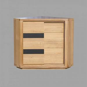 Commode D Angle : meuble d 39 angle oslo meubles de normandie ~ Teatrodelosmanantiales.com Idées de Décoration
