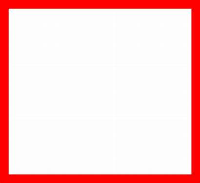 Square Clipart Simple مربع صوره احمر I2clipart