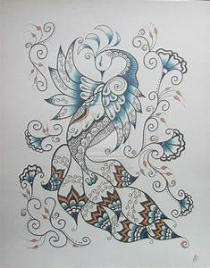 Henna Design Drawing Peacock | www.imgkid.com - The Image ...