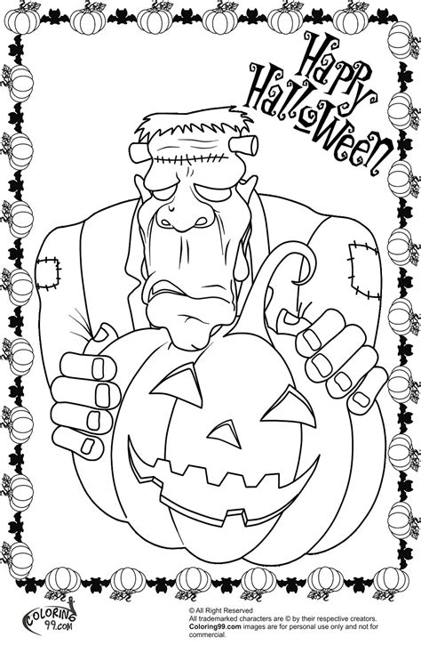frankenstein coloring pages frankenstein coloring pages team colors