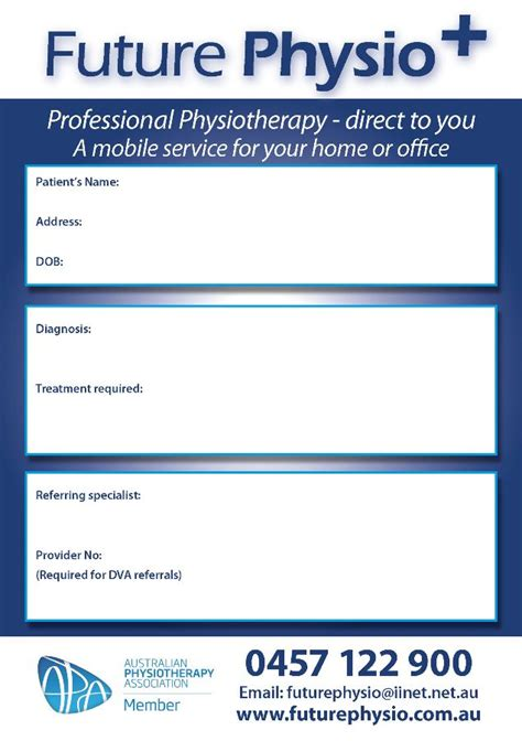 referral pads printing perth dx medical stationery